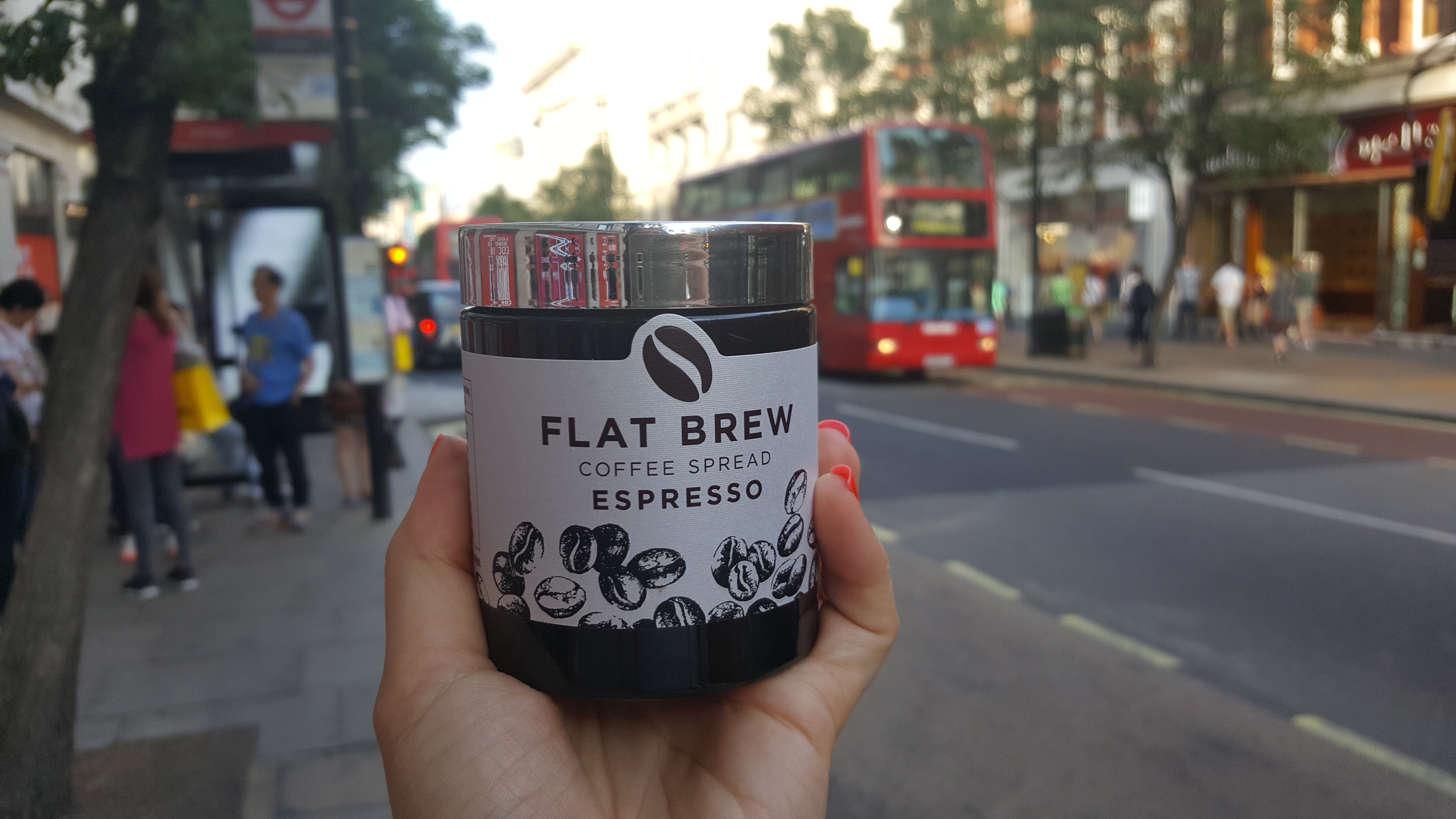 Flat Brew - coffee spread