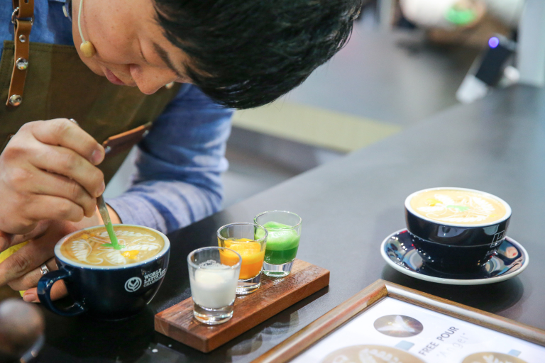 2016 World Latte Art Champion: Umpaul of South Korea