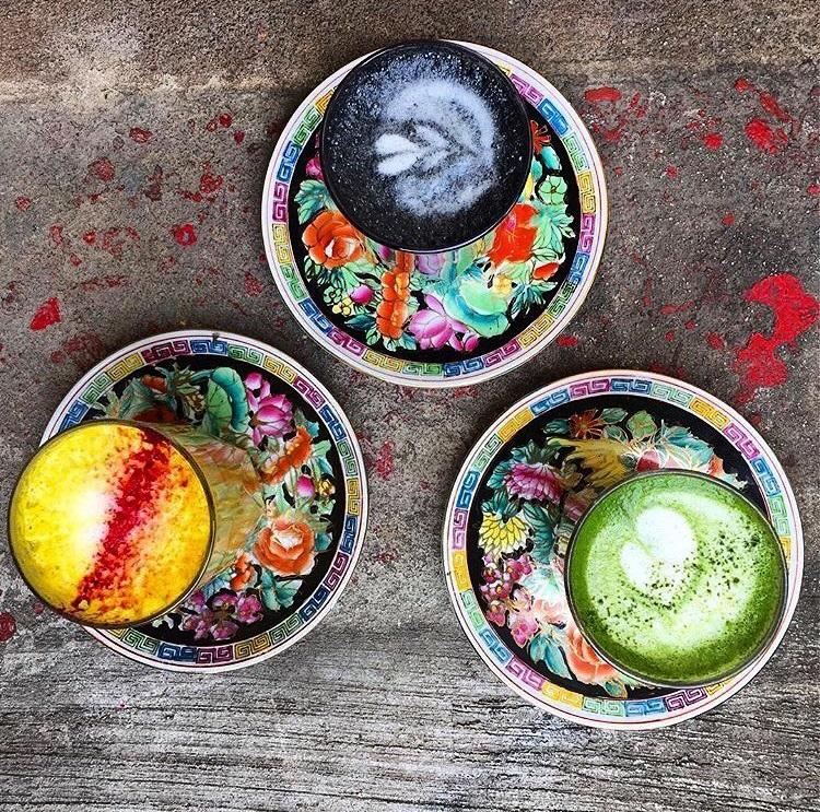 Colored Lattes
