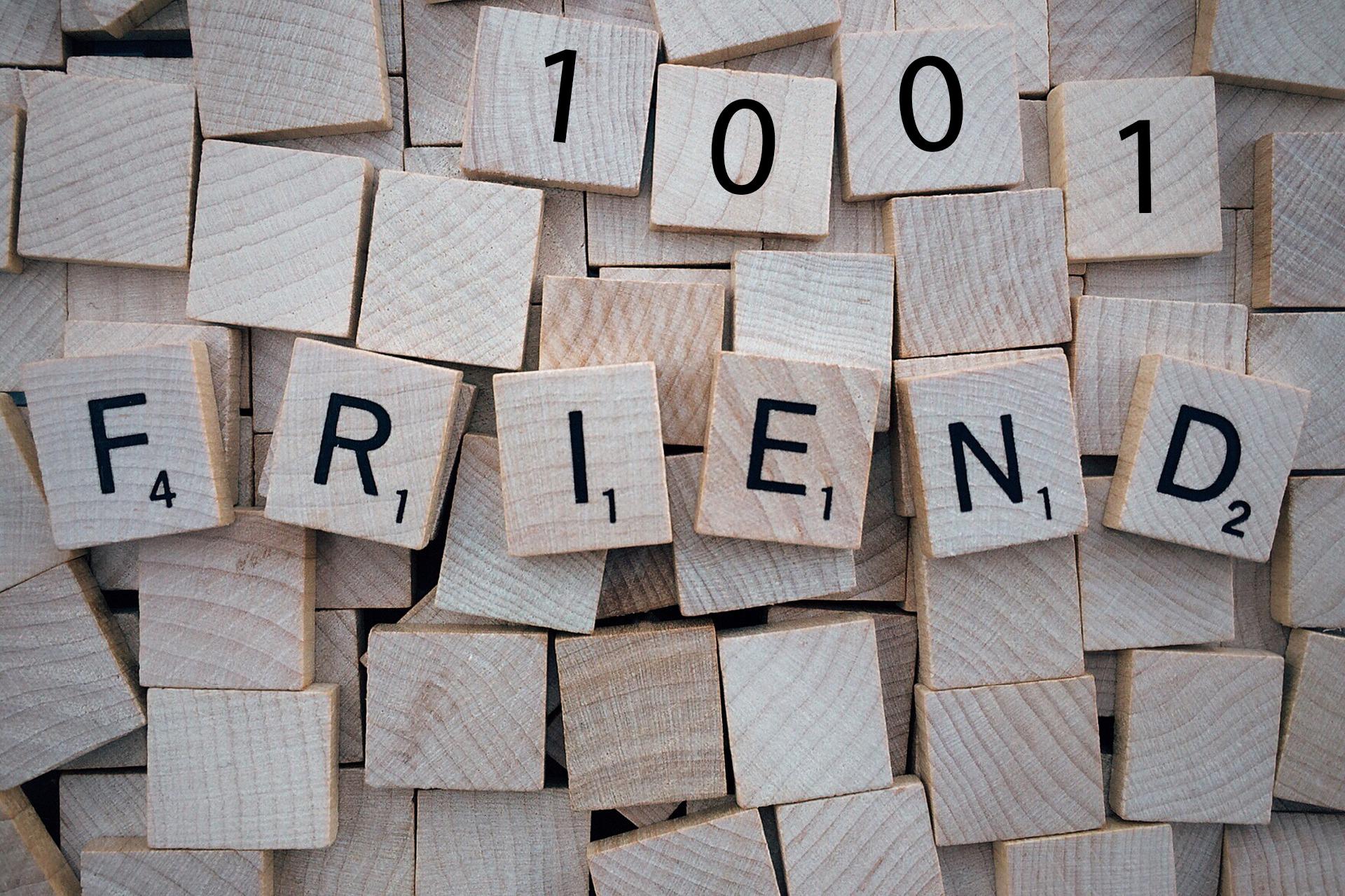 1001 Friends on Facebook