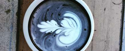 Activated Charcoal Coffee