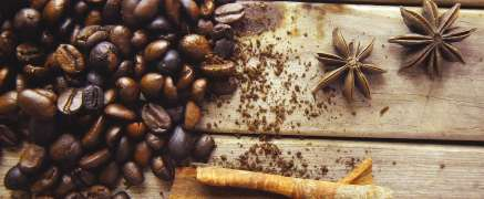 Cinnamon and other Spices in Coffee
