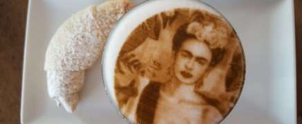 Selfie Kaffee