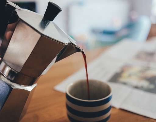 Aluminium Kaffeekannen